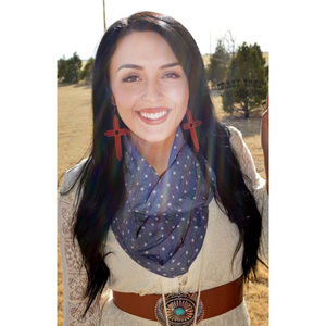 Crazy Train WESTERN SKY SCARF